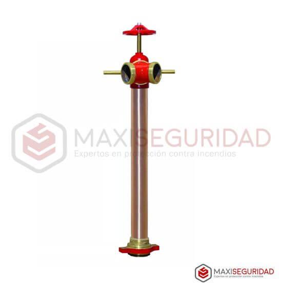 Columna para hidrante 2 bocas c/llave