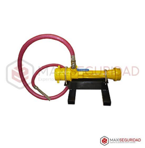 Dosificador DL-12 con extremos Roscados 63.5 mm con Trineo