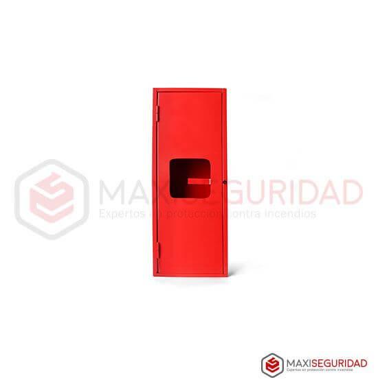 Gabinete matafuego x 5 Kg c/puerta enteriza-visor
