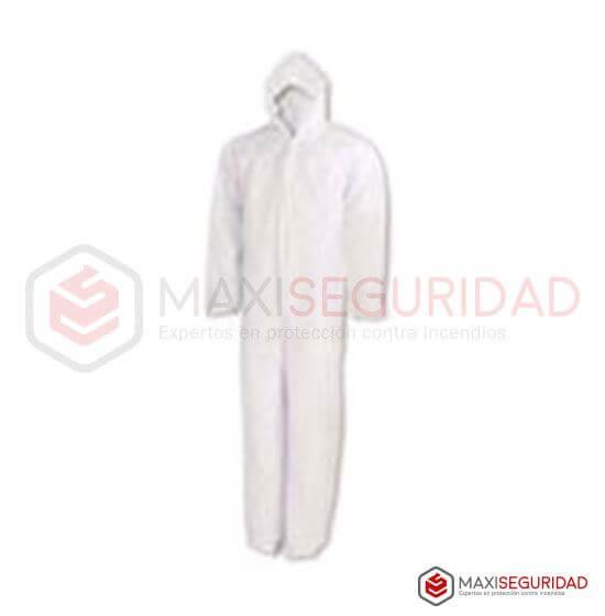 Mameluco descartable blanco tela respirable 45 Gr