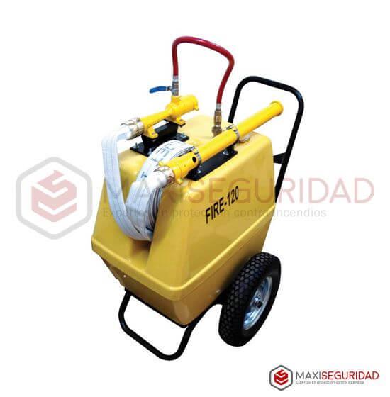 Unidad movil generadora de espuma