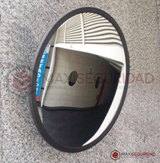 Espejo parabólico base de chapa x 30 cm c/soporte